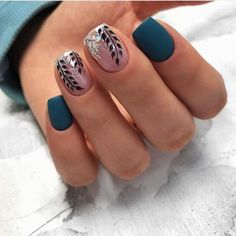 The most beautiful manicure ideas and Nail art ideas for pretty varnished nails! The most beautiful manicure ideas and Nail art ideas for pretty varnished nails! Classy Nail Designs, Gel Nail Designs, Nails Design, Spring Nail Art, Spring Nails, Summer Nails, Fall Nails, Gorgeous Nails, Pretty Nails