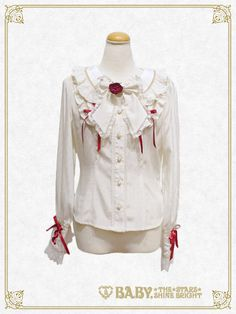 Baby, the stars shine bright Little RED Riding Hood blouse