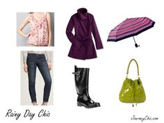 Just because the weather's gloomy, doesn't mean you have to look gloomy! Brighten up!