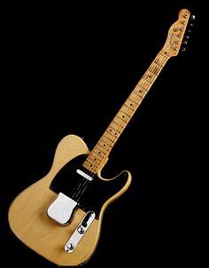 "Roy Buchanan's 1953 Fender Telecaster ""Nancy"