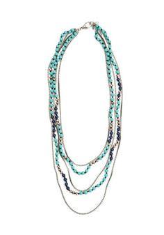 I ♥ Lucky Brand jewelry! Fantasy Jewelry, Boho Jewelry, Jewelry Ideas, Beaded Jewelry, Jewelry Box, Jewelry Accessories, Jewelry Necklaces, Beaded Necklace, Necklace Box