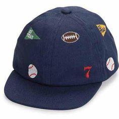 Sports Star Baby Boy Baseball Hat #Melondipity