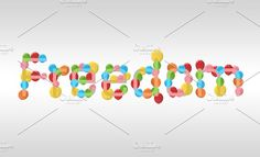 freedom concept of balloons Graphics freedom text of balloons are flying for background by auimeesri Freedom Artwork, Illustrators, Balloons, Concept, Sunlight, Artworks, Inspiration, Graphics, Design