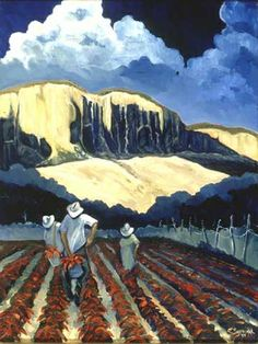 Chile Harvest by Ed Sandoval | Studio de Colores in Taos, New Mexico