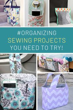 15 Awesome Sewing Projects to Make You an Organization Genius! 15 Awesome Sewing Projects to Make You an Organization Genius! 15 Awesome Sewing Projects for the Baby Leggings, Sewing Projects For Beginners, Fun Projects, Sewing Hacks, Sewing Tutorials, Sewing Patterns, Leftover Fabric, Sewing Toys, Bags Sewing