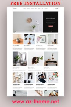 Zobo is a clean and minimalist theme that allows your reader to focus on your content, build especially for daily or hobby bloggers who love to share their stuff. Whether it's about life, fashion, travel, beauty or just a simple personal blog. Featuring a clean, elegant design, this theme is guaranteed to bring a pleasant reading experience to your readers. #wordpress #blog #theme