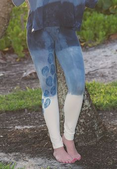3cb92cef47794 Dip Dye Paisley Leggings – Organic Cotton and Bamboo - Jewel and Lotus :  Global Community