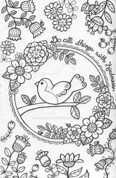 Related Image Deviant ArtArt TherapyBrighten Your DayAdult ColoringColoring BooksColoring Pages2 ColoursColorful FlowersCool PhotosColouring