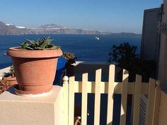 Oia, Santorini Oia Santorini, Planter Pots