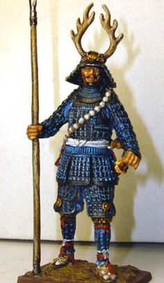 . Figure Model, Scale Models, Art Forms, Samurai, Sculpting, Medieval, Miniatures, Stuff To Buy, Art