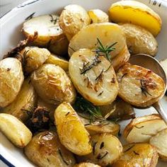 BBQ Rosemary Potatoes on BigOven: Hearty side dish; great on a fall or winter evening. I found this recipe in BigOvens Standard recipe box. My son and I enjoyed it very much and I marinated  2 chicken breasts cut in half in  some of the mixture and gilled them also.
