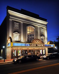 Levoy Theatre open with great shows every weekend!  Gorgeous and entertainment is spectaular!