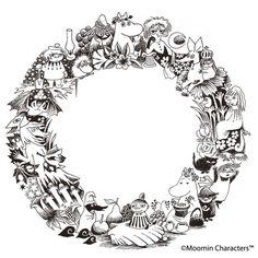 my fav illustration of Tove Jansson Les Moomins, Moomin Valley, Maurice Sendak, Tove Jansson, Up Book, Children's Book Illustration, Neko, Coloring Pages, Design Art