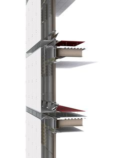 Image result for double skin facade system detail