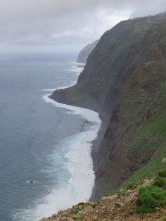 Madeira - Steilküste  Ponta do Pargo