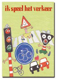 Met dit spelenboek kunnen leerkrachten aan de slag om te spelen met verkeersopvoeding.