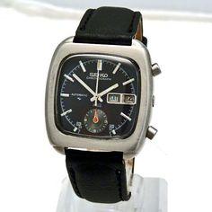 SOLD :: Seiko 5 Hands Chronograph - RARE - Automatic 1984 Watch - Retro Vintage Watch - Harrogate - Rolex - Breitling - Tudor - Omega - Seiko - Casio - Zenith - buy watches - watch mens - ladies watch - vintage watches - 50s 60s 70s 80s 90s - watches, women, omega, kate spade, kate spade, designer watch *ad #seikoladieswatches #menswatchesbreitling