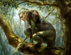 Elf Spearman by Shilesque