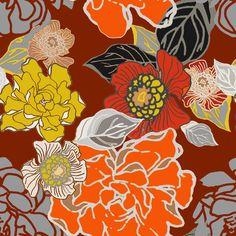 Jungle Retro fabric by joanmclemore on Spoonflower - custom fabric