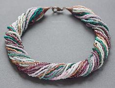 Beaded Jewelry, Jewelry Necklaces, Handmade Jewelry, Bracelets, Beading Techniques, Bead Loom Patterns, Body Jewellery, Diy Necklace, Loom Beading