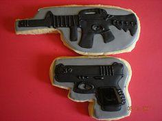 The dreaded gun cookies :)