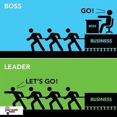 """""""Boss go!, leader let's go!"""" #Startup #Entrepreneur"""