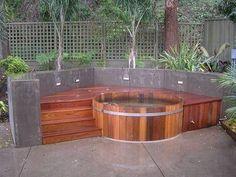 Hoe maak je een hot tub. Stel de juiste temperatuur.