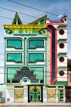 Architect Freddy Mamani Silvestre Is Reinvigorating Bolivia with Colorful Architecture Inspired by Indigenous Cultures