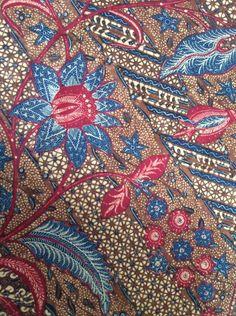 Batik Pattern, Pattern Paper, Fabric Design, Pattern Design, Batik Art, Batik Fashion, Print Ideas, Bird Drawings, Color Of Life