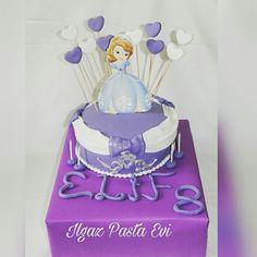 #prensessofiapasta #princesssofiacake