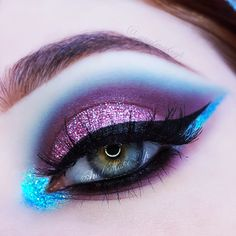 Ariel Make Up ~ Make Up & Beauty with a Princess Touch: ♕ Make Up Look ~ Merma. - Ariel Make Up ~ Make Up & Beauty with a Princess Touch: ♕ Make Up Look ~ Mermaids & Unicorns ♕ - Eye Makeup Art, Sexy Makeup, Cute Makeup, Gorgeous Makeup, Makeup Geek, Eyeshadow Makeup, Beauty Makeup, Crazy Makeup, Glitter Eyeshadow