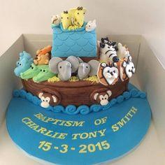 Noahs Ark  - Cake by Vanessa Platt  ... Ness's Cupcakes Stoke on Trent