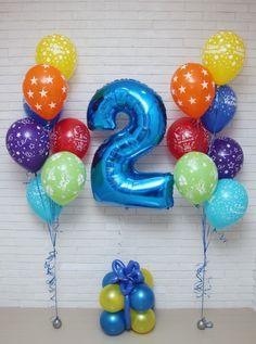 2nd Birthday Photos, Happy Birthday Baby, Minion Birthday, Baby Boy 1st Birthday, Birthday Pinata, Birthday Balloons, Helium Balloons, Foil Balloons, Transportation Birthday