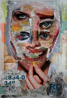 collage by rael brian