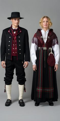 Hello all, Today I will cover the last province of Norway, Hordaland. This is one of the great centers of Norwegian folk costume, hav. Norwegian Clothing, Norwegian Fashion, Folk Clothing, Historical Clothing, Costumes Around The World, Art Populaire, Frozen Costume, Scandinavian Fashion, Folk Costume