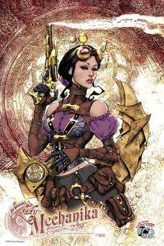 Lady Mechanika  LVCE 2013 by joebenitez.deviantart.com on @deviantART