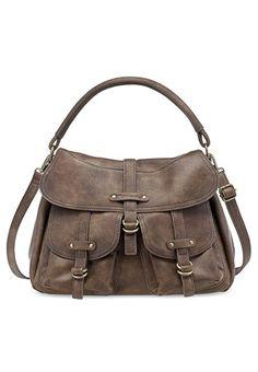 Tamaris Damen Gwyneth Satchel Bag Henkeltaschen, Braun (Mocca 304), 34x27x12 cm: Amazon.de: Schuhe & Handtaschen