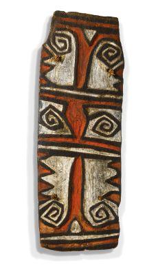 TELEFOMIN PEOPLE, ELIPTAMAN SUBGROUP, SHIELD, OK MOUNTAIN, POSSIBLY UBTEMTIGIN VILLAGE, PAPUA NEW GUINEA - Sotheby's