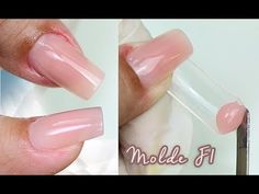 curso polygel aula Alongamento Polygel no molde Gel Uv Nails, Polygel Nails, Hair Skin Nails, Love Nails, Acrylic Nails At Home, Manicure Y Pedicure, Powder Nails, Nail Tips, Nail Designs