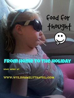 Food for thought. What to feed kids on a 36 hour journey from Australia to Europe