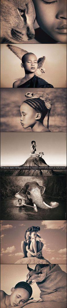 Gregory Colbert, his art is amazing!!
