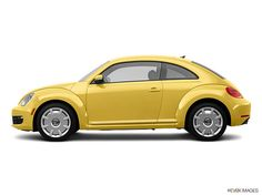 2012 VW Beetle -love yellow cars