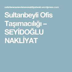 Sultanbeyli Ofis Taşımacılığı – SEYİDOĞLU NAKLİYAT Boarding Pass
