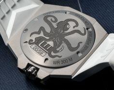 "Linde Werdelin Oktopus MoonLite White Watch - by Bilal Khan - hot off the press, see more about it on aBlogtoWatch.com ""The minds at Linde Werdelin are adding to their Oktopus Moon watch collection and, yes – before you can ask – there are only going to be 59 made, the number of days in two 28.5-day lunar cycles. The new Linde Werdelin Oktopus MoonLite White is the latest iteration of the series that started with Gold and Black, and continued with a funkier watch..."""