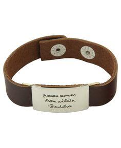 Quote Jewelry | Buddhist Bracelet | Inspirational Jewelry