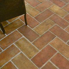 Mexican Style Decor, Terracotta Floor, Handmade Tiles, Timber Flooring, Flooring Options, Floor Design, Tile Floor, Floors, Marble