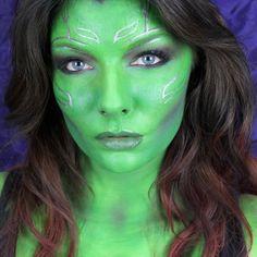 Gamora Cosplay Makeup   Guardians of the Galaxy Makeup Tutorial   Makeup Geek
