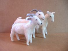 Felted Goat Making Tutorial CD by NeverFeltBetterKits on Etsy, $16.00