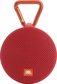 JBL - Clip 2 Portable Bluetooth Speaker - Red