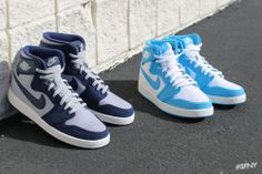 "Air Jordan 1 Retro KO High OG ""Rivalry"" .Share more Jordan release 2014 joy with my blog www.23isback.me ."